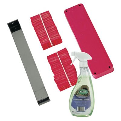 Westco Plank Laying Kit and Laminate Cleaner Bundle