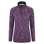 Mountain Warehouse Chakra Womens Space Dye Midlayer ( Size: 8 )