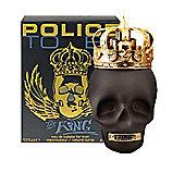 Police To Be The King Eau de Toilette (EDT) 75ml Spray For Men