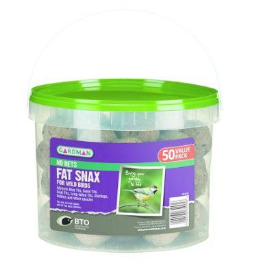 Gardman No Nets Fat Snax - 50 Tub