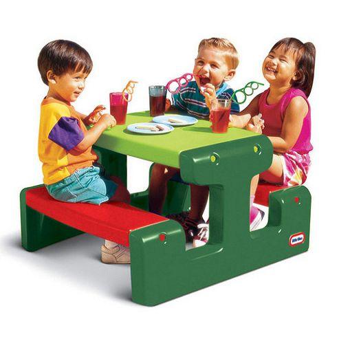 Little Tikes Junior Evergreen Picnic Table