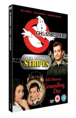 Groundhog Day/Ghostbusters/Stripes (DVD Boxset)
