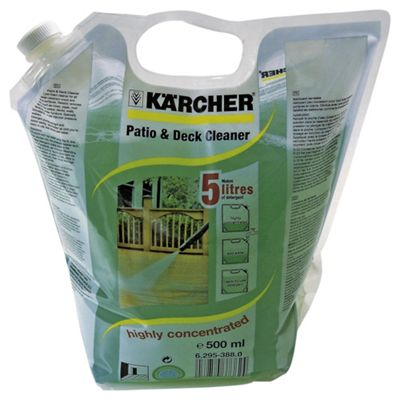 Karcher Patio & Deck Cleaner Pouch, 500ml