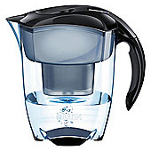 BRITA Elemaris XL 3.6 Litre Water Filter Jug, Black