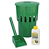 Good Boy clean green dog loo