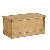 Hampshire Oak Blanket Box - Blanket Box