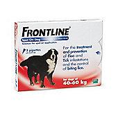 Frontline Spot On (Extra Large Dog 40-60kg) [3 pack]