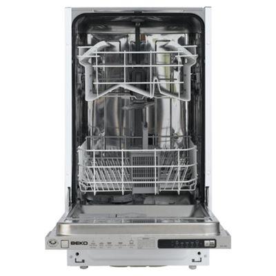 Beko DW450 Slimline dishwasher, A Energy Rating. White