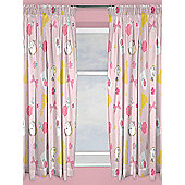 Disney Princess Beauty and the Beast Curtains - Pink