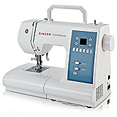 Singer Confidence 7465 Computerised Sewing Machine - White