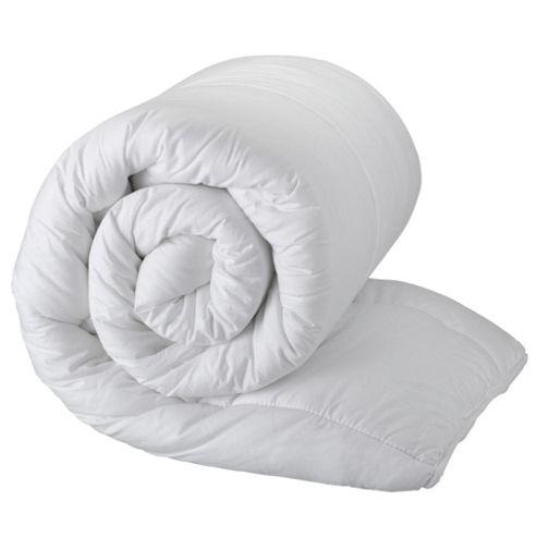Tesco Standard Cotton Cover Kingsize Duvet 4.5 Tog
