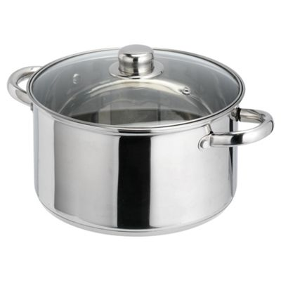 Tesco Cook It 24cm Stainless Steel Stockpot