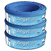 Angelcare Nappy Disposal Refill Cassettes, 3 pack