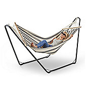 VonHaus Hammock with Frame - Free Standing Hammock for Outdoor, Garden and Patio