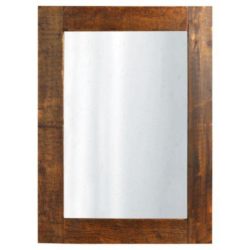 Reclaimed Timber Mirror 106X85Cm