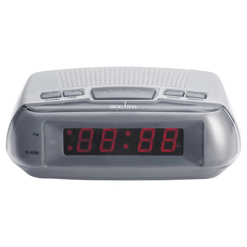 Acctim Metizo Led Alarm Clock