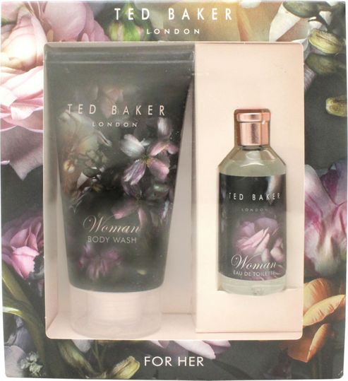 Ted Baker Woman Gift Set 10ml EDT + 50ml Body Wash For Women