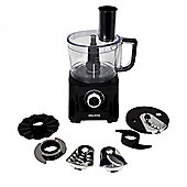 Electriq 700W 6-in-1 Compact Multifunctional Food Processor in Stainless Steel and Black