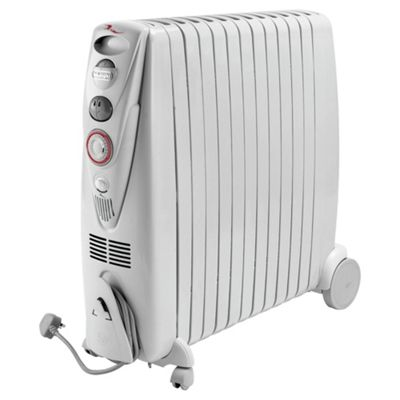 Rapido 3kW Oil Filled Radiator White