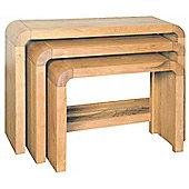 Ultimum Durham Oak UD02 Nest of Tables