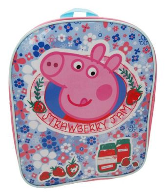 Character Peppa Pig 'Home Sweet Home' Strawberry Jam Backpack