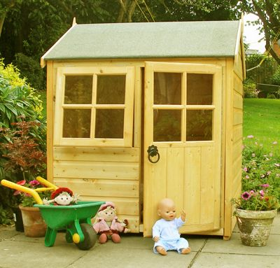 Pumpkin Playhouse 4ftx4ft by Finewood