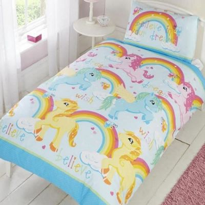Unicorn Dreams Single Bedding & Pillowcase Duvet Cover Set