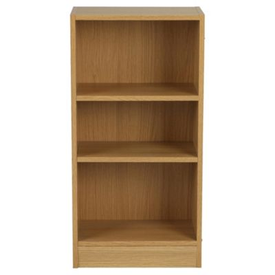 Fraser Oak Effect 3 Shelf Bookcase