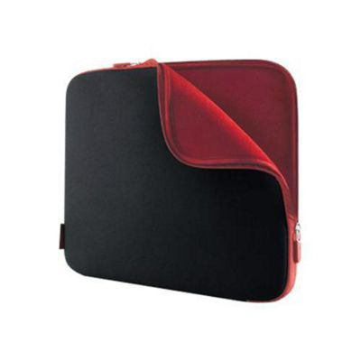 Belkin F8N160E Neoprene Sleeve for Notebooks up to 15.6 inch - Jet/Cabernet