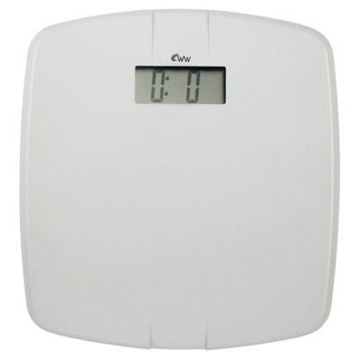 Weight Watchers 8961Bu Easy Read Scale White