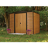 8x6 Woodvale metal shed