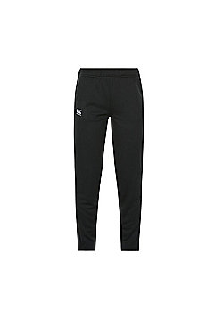 Canterbury Ladies Tapered Poly Knit Pant - Jet Black - Black