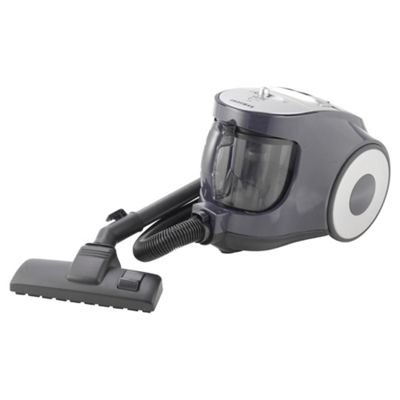 Bagless Cylinder Vacuum Cleaner 2 Litre 1800 Watt Black 2 Year Warranty.