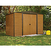 10x6 Woodvale metal shed
