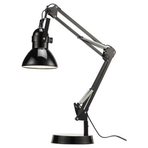 Tesco Lighting Retro Desk Lamp, Black