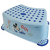 Disney Mickey Mouse Toddler Toilet Training Step Stool - Blue