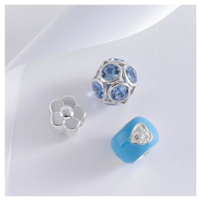 Sterling Silver Flower 3 Pack