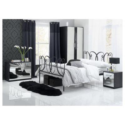 Sophia Bedroom Furniture Set , Mirrored