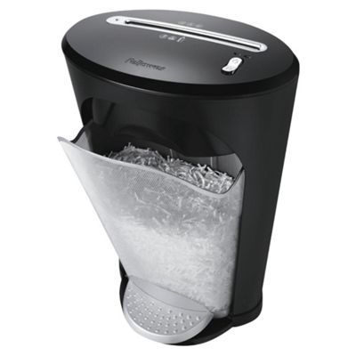 Fellowes Powershred® DS-1 Cross Cut Shredder with 18 Litre Mesh Pedal Bin