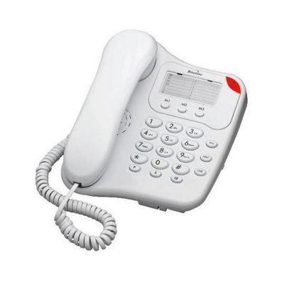Binatone 110 Single Corded Telephone , White