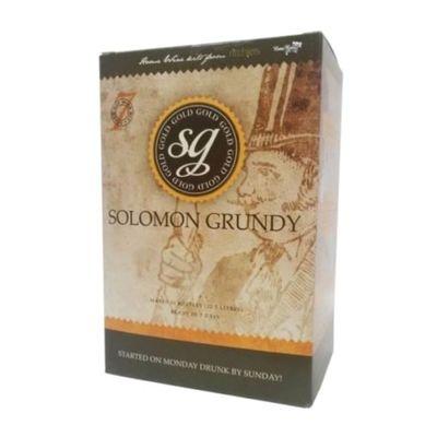 Solomon Grundy Gold - Merlot - 30 Bottle Wine Kit