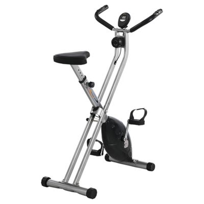 V-fit MXC1 Folding X-frame Magnetic Exercise Bike