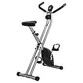 V-fit MXC1 Folding X-frame Magnetic Exercise Bike