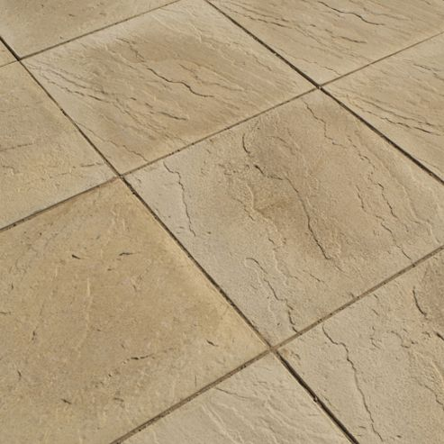 Oxford Mellow Buff 600x600 Paving