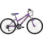 "Freespirit Summer 24"" Wheel Junior Step Through Mountain Bike Violet"