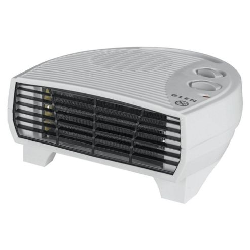 Glen GF30TSN 3kW Flat Fan Heater with Thermostat & Heat Settings