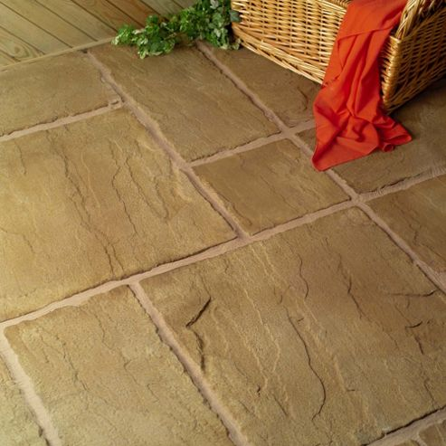 Lincoln Weathered Bronze 600x600 Paving