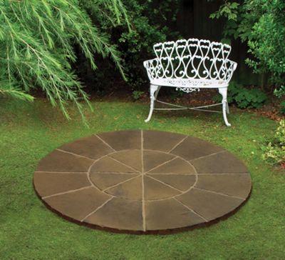 Stamford Mini Circle Kit 1.8m Diameter Autumn brown