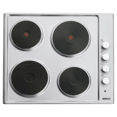 Beko HIZE64101X Stainless Steel Solid Plate Hob