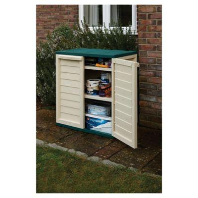 Plastic utility cabinet